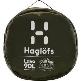 Haglöfs Lava 90 Sac, deep woods/rosin